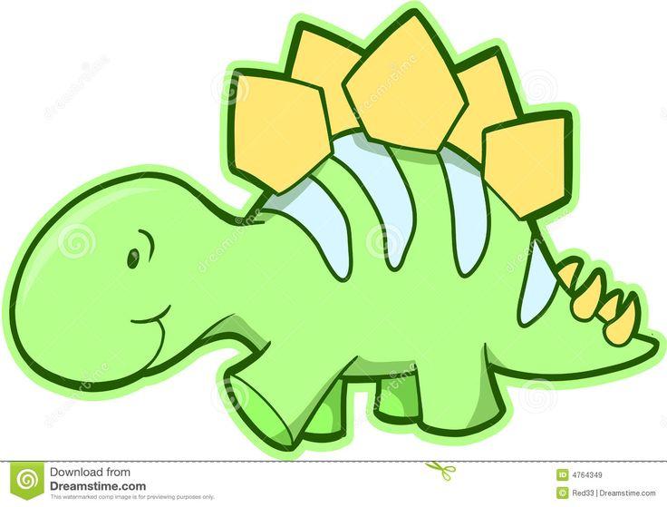 Stegosaurus Dinosaur Vector Royalty Free Stock Images - Image: 4764349