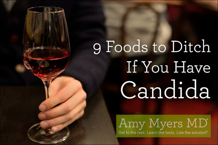 Avoid these 9 foods if you suffer from Candida or yeast overgrowth to stop the progression and jump start the healing process.