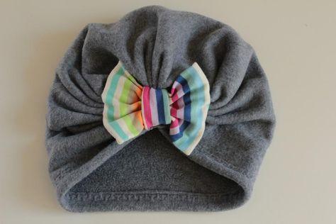 DIY: Turbanmütze für Kinder nähen