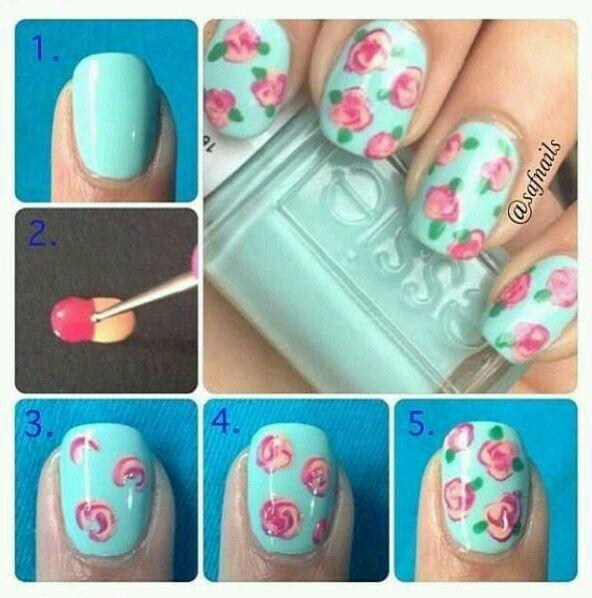 Las mejores 10 imágenes de Arte de uñas de mary carmen en Pinterest ...