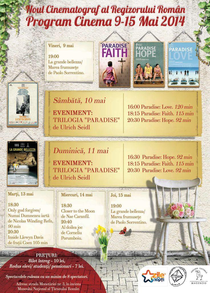 Program 9-15 mai 2014