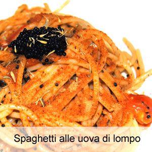 Ricetta spaghetti alle uova di lompo