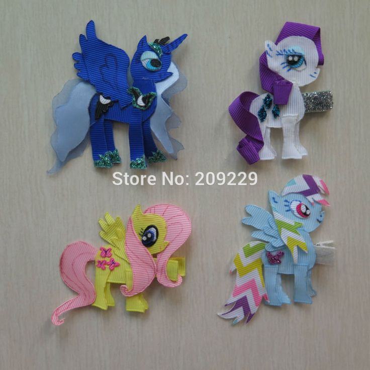 Free Shipping 50pcs/lot My Little Pony Pack #A Ribbon Sculpture Wholesale Hair Accessories Girls Hairbows Hairclips Headbands - http://www.aliexpress.com/item/Free-Shipping-50pcs-lot-My-Little-Pony-Pack-A-Ribbon-Sculpture-Wholesale-Hair-Accessories-Girls-Hairbows-Hairclips-Headbands/32233595829.html