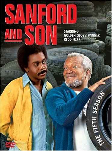 "Sanford and Son - The Fifth Season - Redd Foxx, Demond Wilson. 24 episodes of cantankerous Fred and his son Dummy"" Lamont Sanford's adventures as they try to strike it rich while dealing junk in Los Angeles. Includes Earthquake II,"" Divorce, Sanford"
