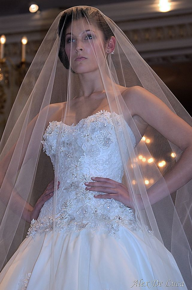 Petra gown on the runway in London #weddingdresses #maria #instalove #stylemepretty