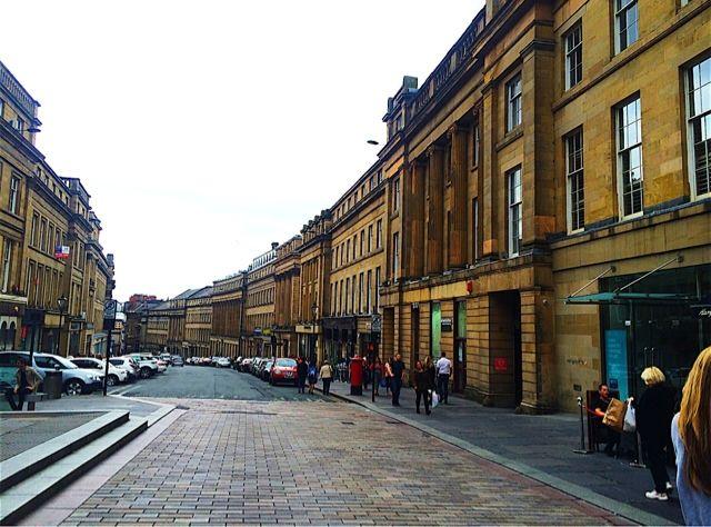 Newcastle's Grey Street.
