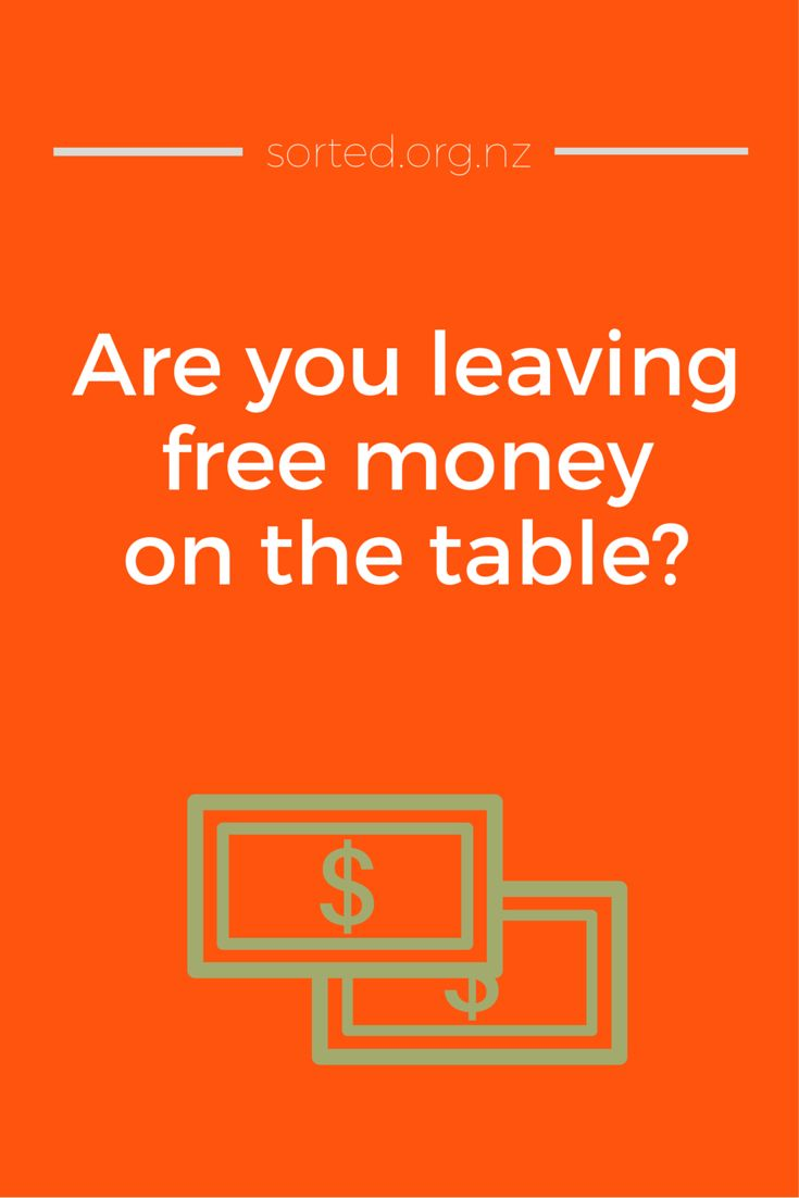 They say there's no such thing as a free lunch, but if you're in KiwiSaver there is such a thing as free money! As much as $36,000, even. Are you leaving money on the table?