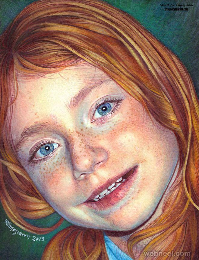 Best RETRATOS Images On Pinterest Colored Pencil Portrait - Artist uses pencils to create striking hyper realistic portraits