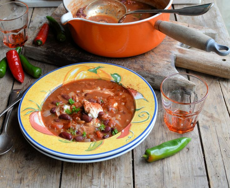 Lavender and Lovage | Weekly Meal Plan: 5:2 Recipes and Smoky Mexican Bean Soup (170 Calories a Bowl) | http://www.lavenderandlovage.com