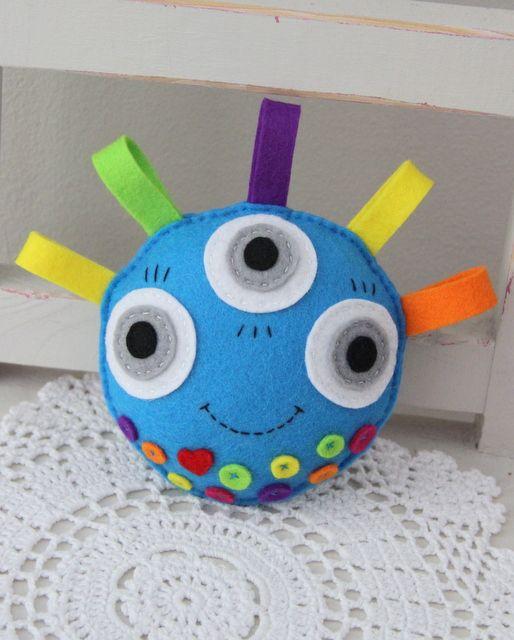 Free Felt Monster Patterns | softie , monster , felt toy