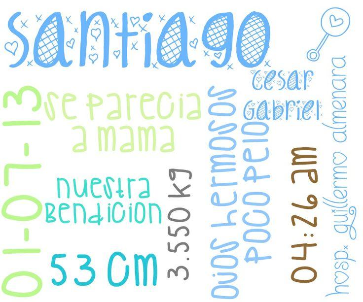 santiago just born