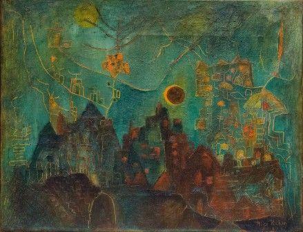 Alice Rahon, The Eclipse, 1947