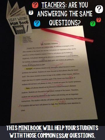 teaching fellows essay questions