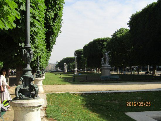 Paris 6e - Esplanade Gaston Monnerville