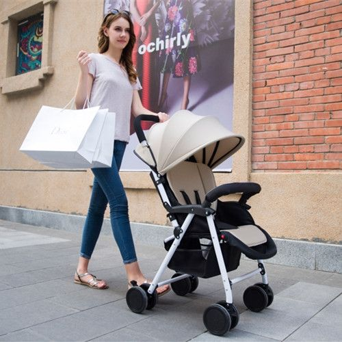199.00$  Watch here - http://aliego.worldwells.pw/go.php?t=32572433227 - 2016 New Arrival Baby Stroller,Cheap Pram Strollers Safety,Children Baby Prams Pushchairs,Dark Purple,Rose Red,Fresh Green,Beige