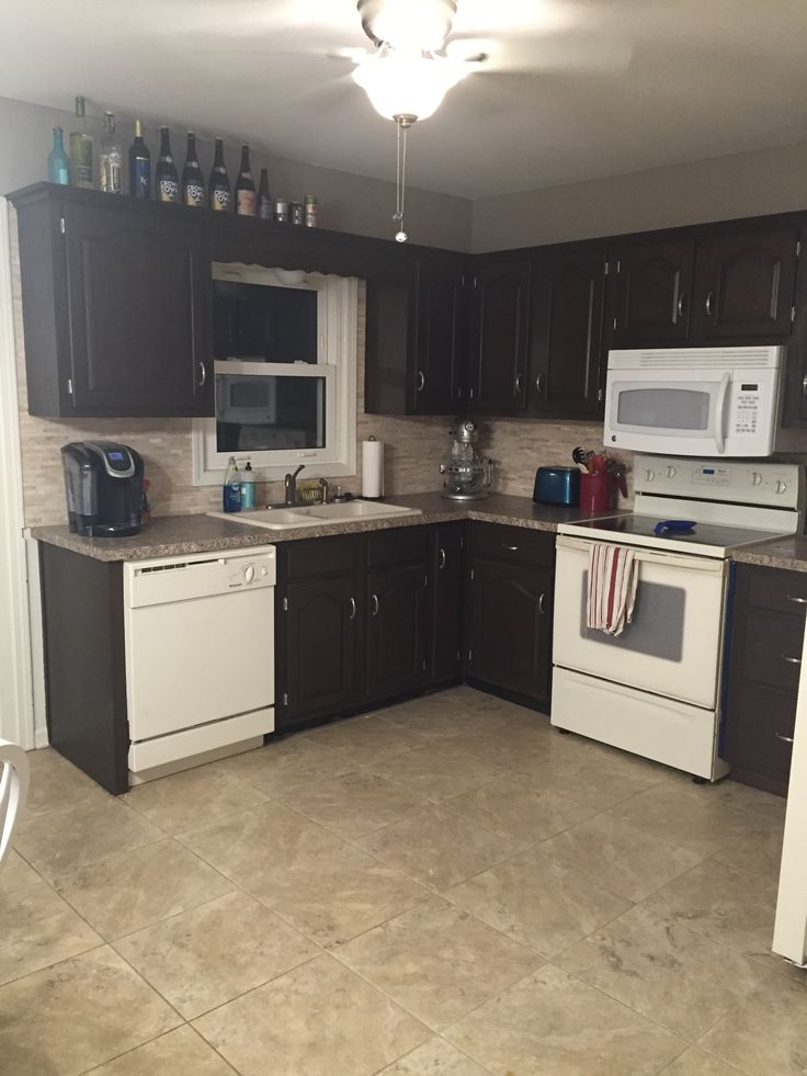 How I refinished my kitchen cabinets for less than $80 without stripping or sanding