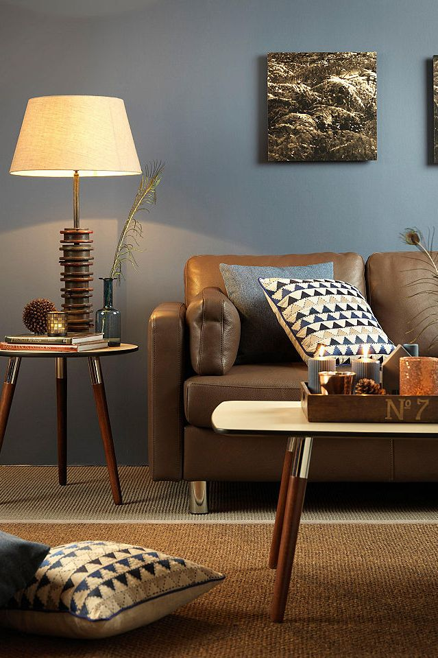 Hochwertig Stressless® Runder Beistelltisch »Style« Mit Braunen Holzbeinen,  Tischplatte In 3 Farben | Einrichtungsideen Wohnzimmer | BAUR | Pinterest