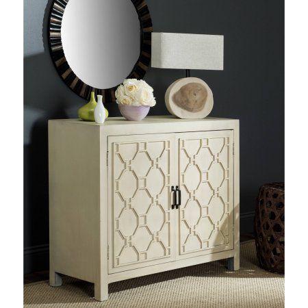Safavieh Selas 2-Shelf Storage Chest, Multiple Colors, Beige