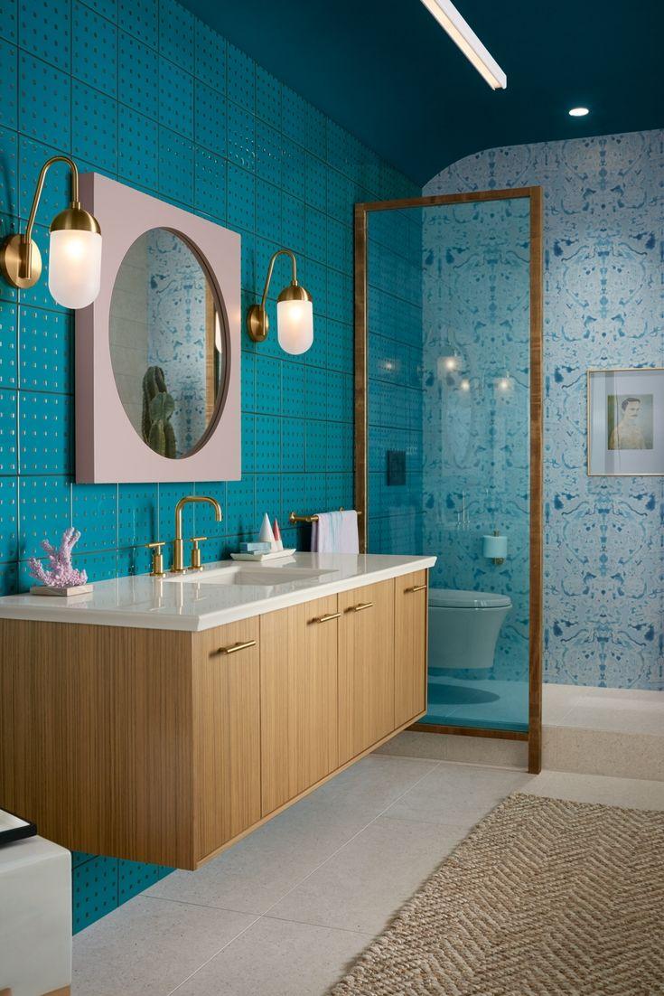 Hint Of Havana Bathroom Kohler Ideas Bathroom Design Luxury Modern Bathroom Design Bathroom Design