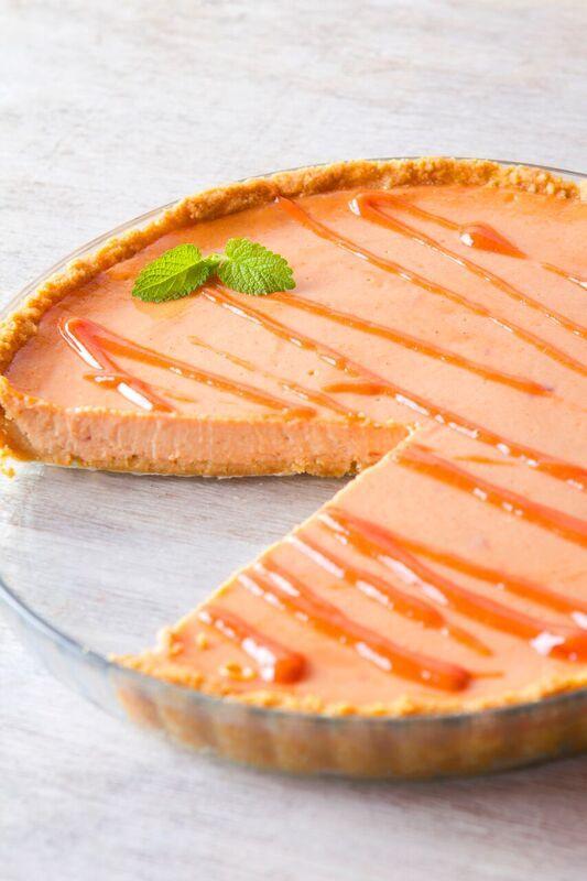 """Guava Cheesecake.  Recipe from book """"La cocina no muerde""""  #thekitchendoesntbite #lacocinanomuerde"""