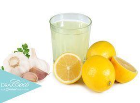 Cómo #Adelgazar Con Una #Infusión De #Ajo Y #Limón #remedioscaseros
