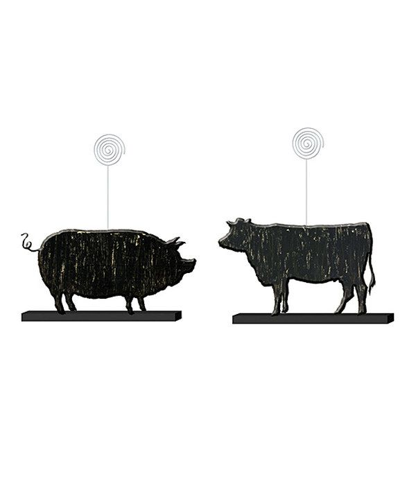 Look at this Elegant Farmhouse Place Card Holder - Set of Two on #zulily today!