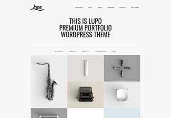 Lupo   Premium Portfolio Theme