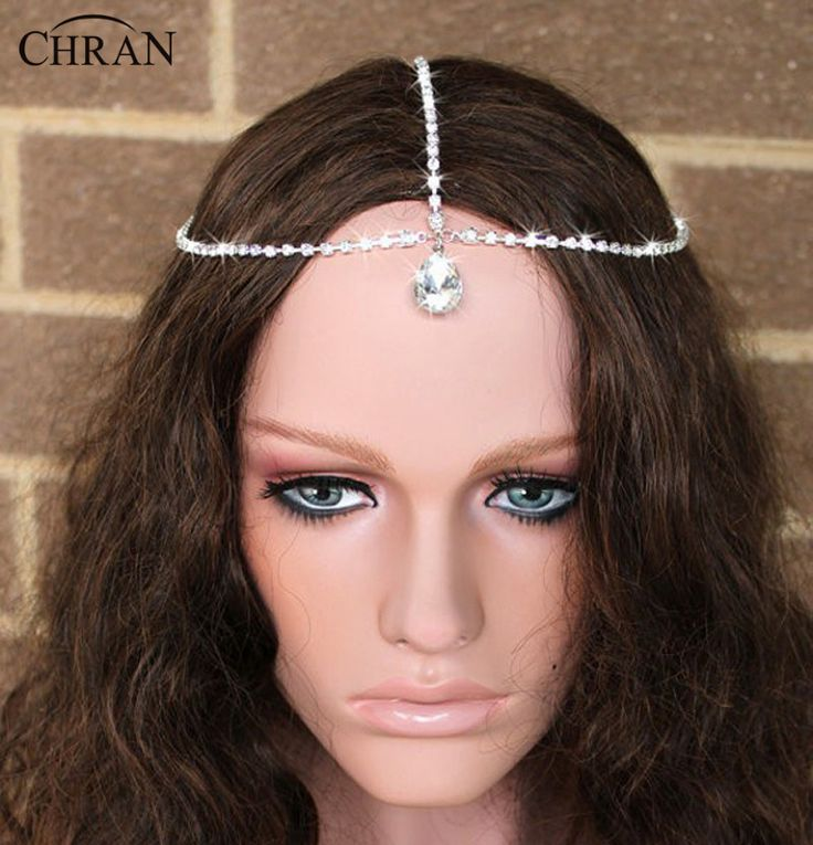 16 best Wedding Forehead pieces images on Pinterest Bridal