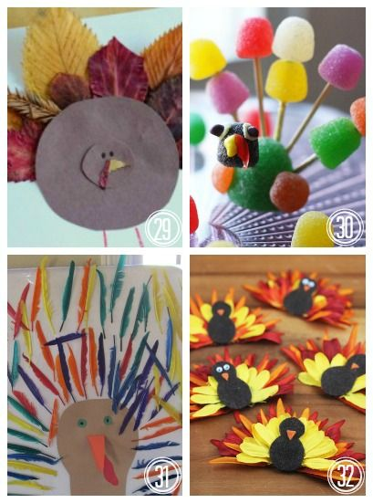 40 Turkey Crafts for Thanksgiving | Housing a ForestHousing a Forest