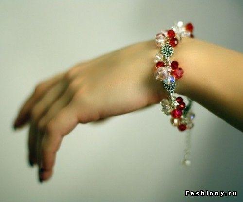 Стильные штучки: колье, браслеты и серьги своими руками / modniye aksesuari svoimi rukami