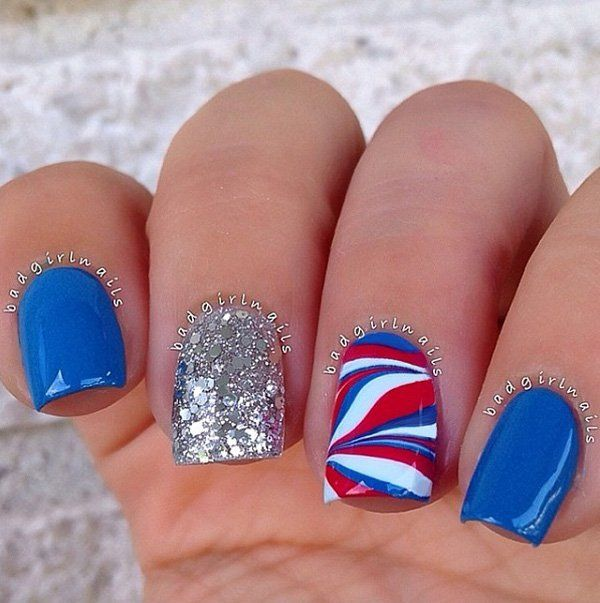 16 best images about fourth of july nails on pinterest Fashion style and nails facebook