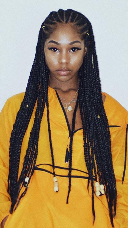 Fulani Braids With Gold Beads Braided Hairstyles For Black Women Latest Braided Hairstyles Hair Styles