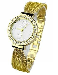 Λάμψη - Χαλαζίας - Αναλογικό - Ρολόι χεριού - για Γυναικεία