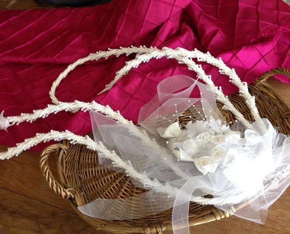 Traditional Wedding Lasso white/ Lazo Tradicional by WEDDINGLASSOS, $65.00