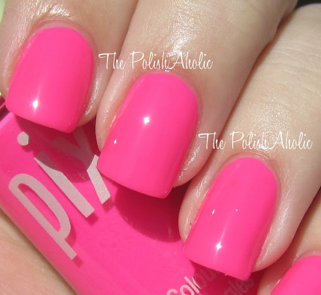 Pixie Summer PinkPink Target, Nails Art, Nails Porn, Pixie Pink, Pink Repin, Neon Pink Nails, Pumpkin Muffins, Polish Obsession, Pixie Summer Pink