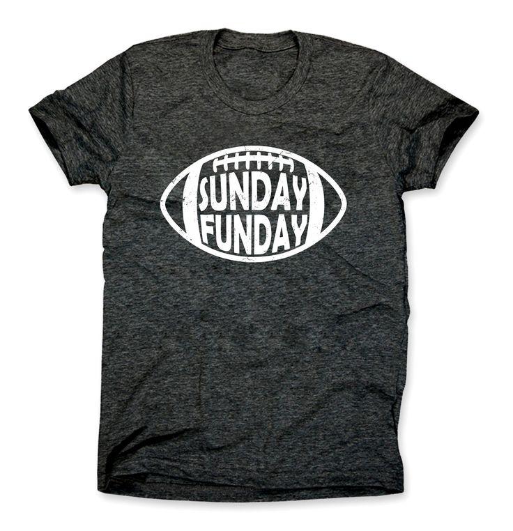 Sunday Funday Football Shirt