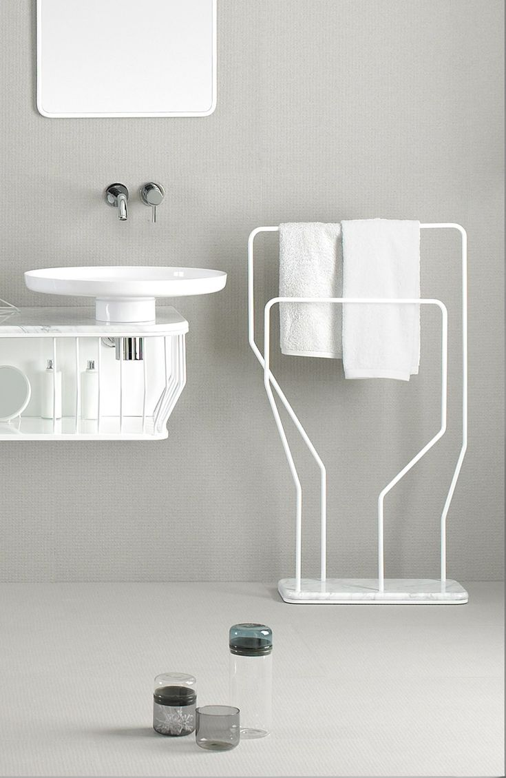 BOWL | Towel rack by @inbani  | design Arik Levy
