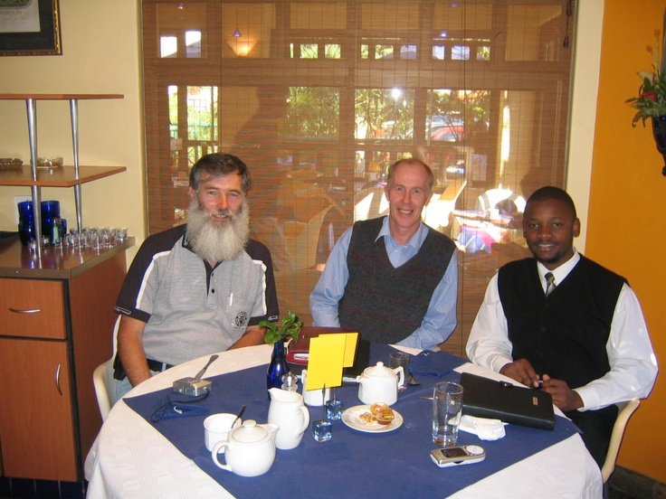 Breakfast in Pretoria