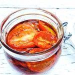 Zongedroogde tomaten uit de oven zelf maken