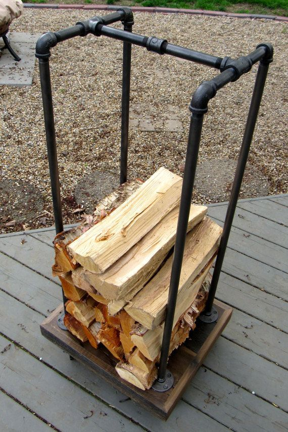 how to how to stack wood in fireplace : Best 20+ Rustic firewood racks ideas on Pinterest | Metal fire pit ...