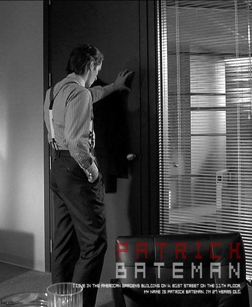 reflection on film psycho 2017-9-26  what do psychopaths think about the movie american psycho  its the reflection of the  is the character of patrick bateman in the film american psycho a.