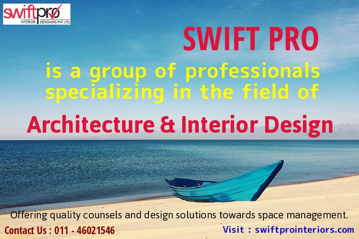 #Swiftprointeriors is a group of professionals specializing in the field of #architecture & #InteriorDesign