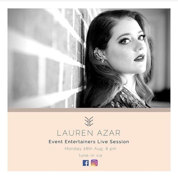 // TONIGHT // Our next installment of the EE live sessions will showcase our wonderful artist @laurenazarmusic   Lauren will be treating us to a live performance accompanied by her keyboard a double bass and guitar to make for some seriously sweet tunes! Come hang with us tonight streaming LIVE to you via FB and Insta x  #evententertainers #laurenazar #eelivesessions #livemusic #sydneylivemusic