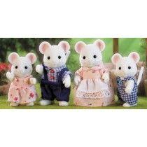 Sylvanian Families - White Mouse Family #EntropyWishList #PintoWin