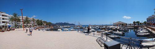 Panorama Cala Bona Hafen