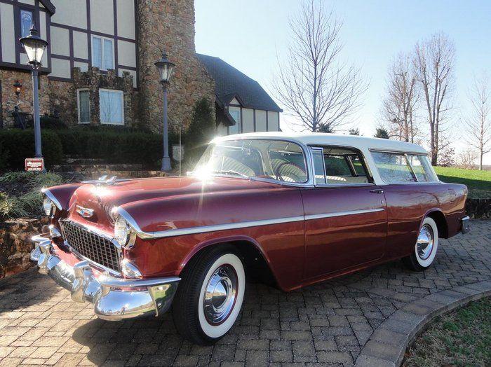 Classic 1955 Chevrolet Nomad For Sale 2216995 85 000 Calvert