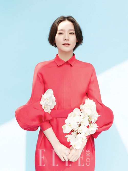 Lee Young Ae and The Twins - Elle Magazine May Issue 13