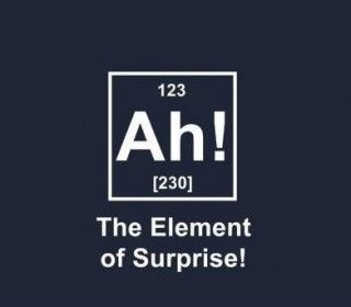 Chuck Norris only recognizes one element on the Periodic Table...