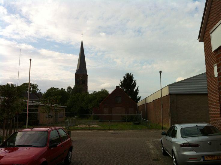 De oude smederij van Brok aan de Peperkampweg in Delden maakte plaats voor woningbouw.