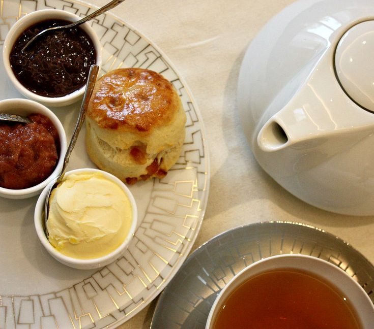 Citrus peel and buttermilk scones from Botanical Afternoon Tea at the Wellington Lounge via @chocoralie